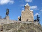 Temple Metechi, Tbilisi